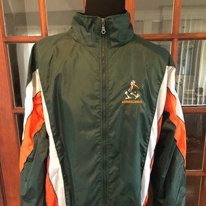University of Miami Hurricanes Windbreaker Jacket